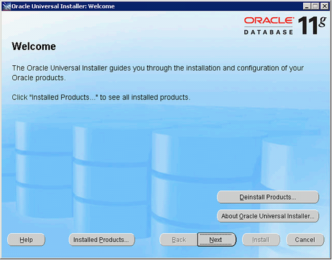 Install the Oracle 11g Client