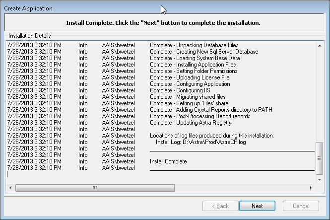 Astra Schedule Help (7 5) - Install Astra Schedule