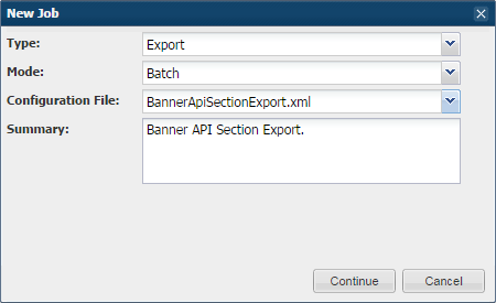 Astra Schedule Help (8 0) - Banner API Export