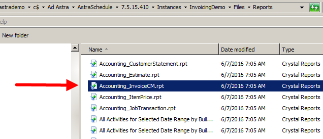 Add a Graphic to the Invoice Report Header
